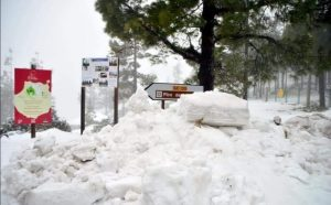 Gran Canaria - sníh
