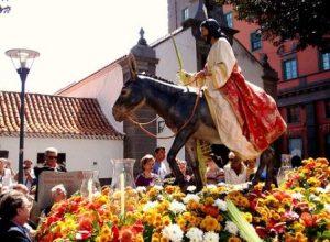 Ježíš na oslíku - Gran Canaria